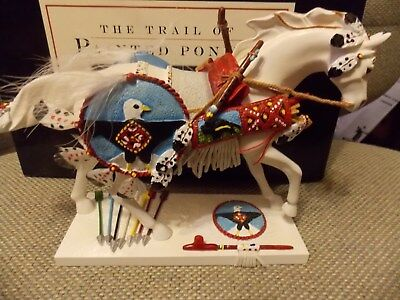Trail of Painted Ponies #12253 Sacred Reflection of Time Horse Figure