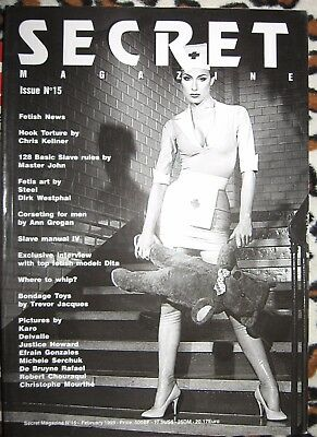 Secret Fetish Magazine February 1999 #15  Dita Von Teese