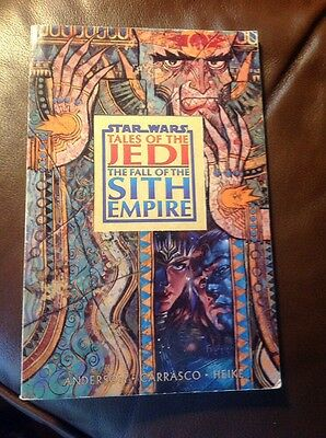 Star Wars Tales of The Jedi The Fall of The Sith Empire TPB 1998 Ist Edition