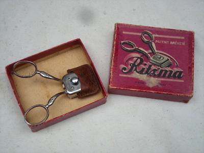 Vintage RITZMA Barber Hair CLIPPERS Trimmer, Cutter- Original Box, 1931, Germany