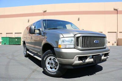 """2004 Ford Excursion 137"""" WB 6.0L Limited 4WD 2004 FORD EXCURSION LIMITED,4WD,POWERSTROKE DIESEL,1 OWNER,68K MILES,VERY CLEAN!"""