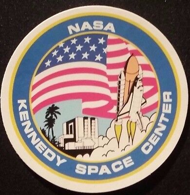 3 inch NASA Kennedy Space Center Space Sticker Patch