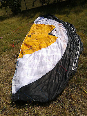 HQ Montana 12.5m snowkite/bar and lines
