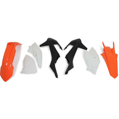 Racetech NEW Mx KTM EXC EXC-F 2017-2018 OEM '18 RTECH Dirt Bike Plastics Kit