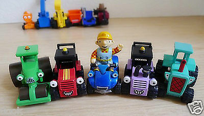 Mattel Learning Curve Bob the Builder Diecast Toy Cars Loose Boys XMAS gift 11p