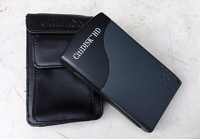 External Video Capture Device w Leather Case CitiDisk HD-120GB