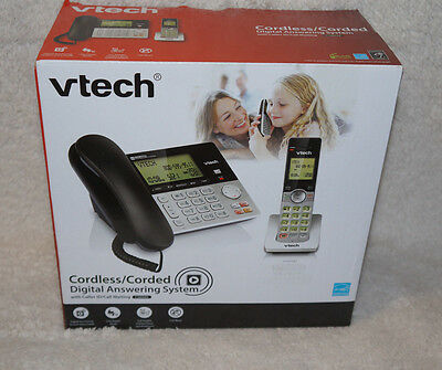 VTECH VTCS6949 Corded Cordless 2-Handset Telephone System with Dual Caller ID