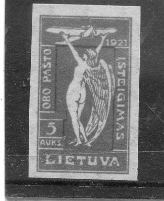 Lithuania SC#C14 MLH ,imperf VF