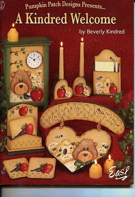 PAINTING BOOK - A KINDRED WELCOME by Beverly Kindred