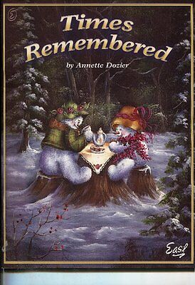 PAINTING BOOK - TIMES REMEMBERED by Annette Dozier
