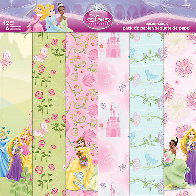 "Disney Princess 12""x12"" Scrapbooking Paper Collection"