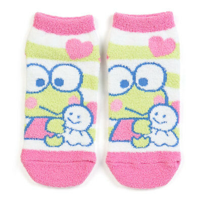 Sanrio Kerokero Keroppi adult Mokomoko socks from Japan shipping