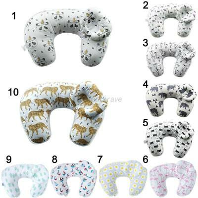 Newborn Baby U-Shap Maternity Breastfeeding Nursing Support Pillow Detachable US