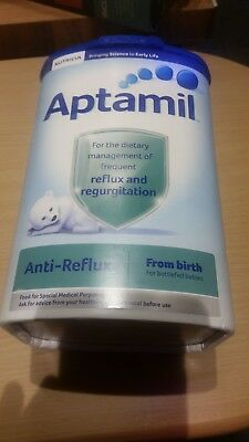 Aptamil anti reflux powder 3 unopened tubs in date till Oct 2018