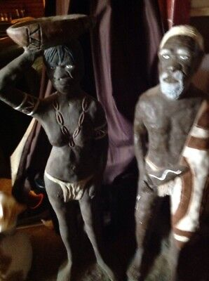 Collectible Aboriginal Garden Statues
