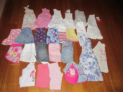 Girls Size 3 Summer Spring Bulk Lot - EUC Sprout Chino Roxy Esprit Fred Lonsdale