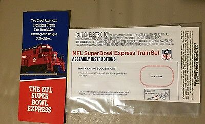 Nfl Superbowl Express---Instructions And Pamphlet Only