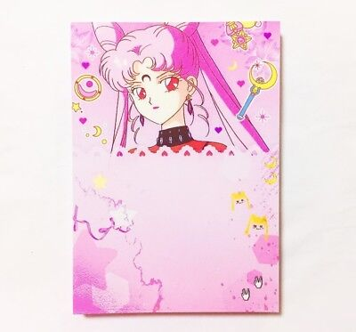 Korean Cute Stationery Paper Memo Pad Bookmark Note Letter 100sheets Sailor Moon