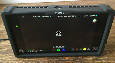 "Atomos Shogun 4K HDMI SDI Recorder 7"" Monitor 480GB SSD Card Rubber Case"