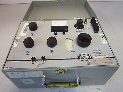 Thermometer  Calibrator/ Resistance Bridge 72-490-03 Biddle NSN 6685008676629