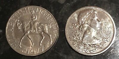 British £5 2012 Nice Coin 1977 Crown Silver Jubilee