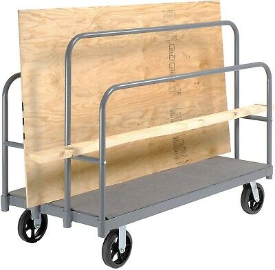 Panel, Sheet And Lumber Truck With Carpeted Deck 2400 Lb. Capacity