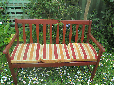 GARDEN BENCH--With cushions-- Ringwood Nth, Vic.
