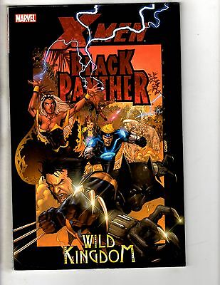 X-Men Black Panther Wild Kingdom Marvel Comics TPB Graphic Novel Comic Book J242