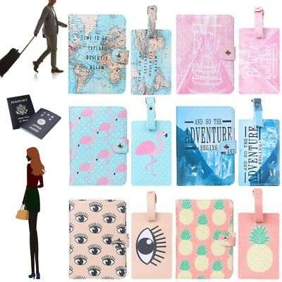 New Journey Women ID Card Case Cover Credit Protector Travel Passport Holder