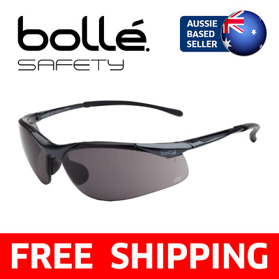 Bolle Bollé Safety Glasses - Sidewinder, Smoke