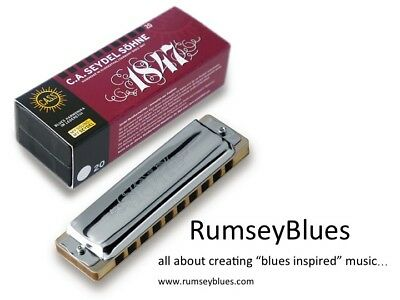 Seydel Harmonica - 1847 Blues Classic (SELECT KEY)