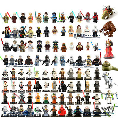 Star Wars Minifigures Blocks DIY Building Toys Doll Compatible With Main Brand