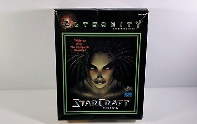Starcraft Alternity TSR Adventure Role Playing Game RPG Blizzard WOTC