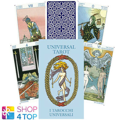 Universal Mini Tarot Cards Deck Esoteric Fortune Telling Lo Scarabeo New