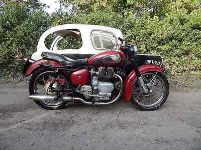 Royal Enfield Super Meteor 700cc Twin Sidecar-Outfit 1959