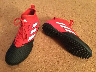 Mens Size 7.5 Adidas  Ace 17.3 Sock  Astro Turf Trainers