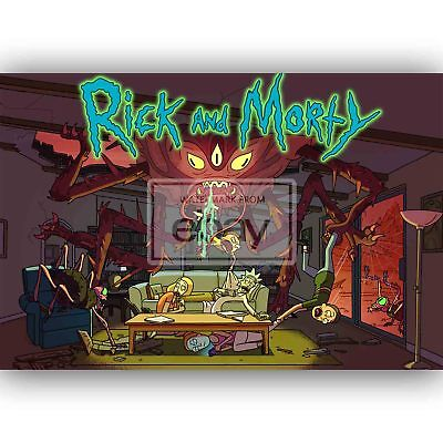 RICK AND MORTY run the jewels 24 X 14 Inch Home Decoration