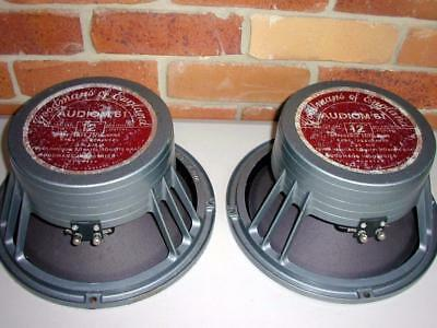 Goodmans Audiom 61, 20 Watt, 15 Ohm,   12 inch Bass Speakers - -Nice Condition