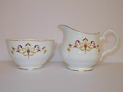 Duchess Bone China Sugar Bowl and Milk Cream Jug Byron Design  Lovely