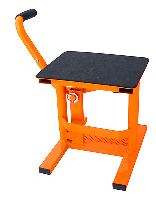Heavy Duty Mx Lift Up Stand Ktm Orange Exc Motocross Bike Paddock Stand Pdsmx11