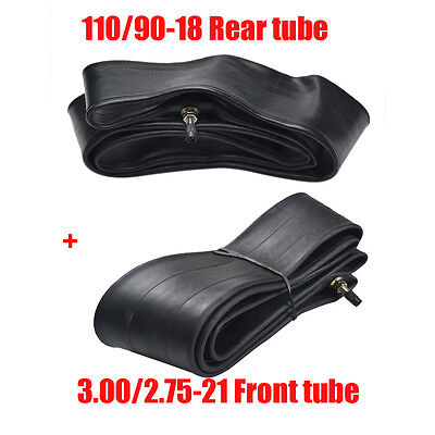 "110/90-18"" Rear 80/100-21"" Front Inner Tube For Dirt Pit Trail Bike 150cc-250cc"