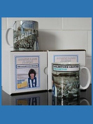 Brighton & Hove Albion - The Goldstone Ground New Retro style mug