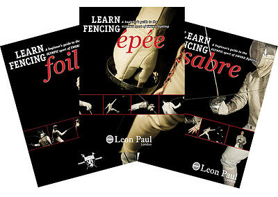 Learn Sword Fencing - Instructional 3 DVD Box Set - Foil, Epee & Sabre
