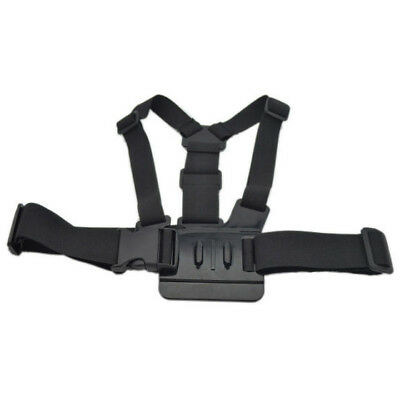 Action Camera Chest Harness Camrecorder Holder Black Elastic Belt Strap ACCH1