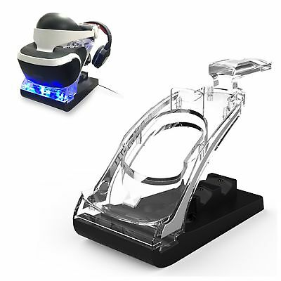 PSVR Playstation 4 VR Showcase Controller Charging Dock Display Stand for PS4