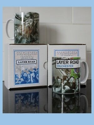 Colchester United - Layer Road New Retro style mug