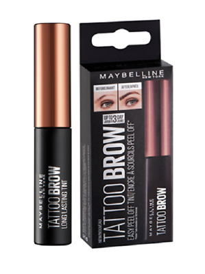 Maybelline Fashion Tattoo Eye brow Medium Brown Original ( Brand new boxed )