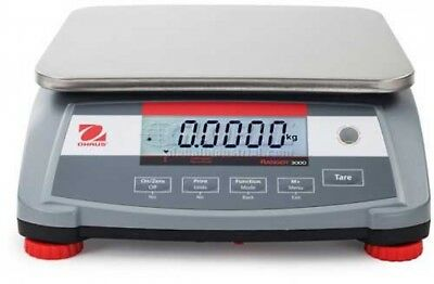 Ohaus Ranger 3000 Compact Digital Counting Scale 3lb Capacity 11-13/16' X