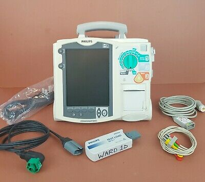 Agilent Philips Hearstream XL AED Biphasic Defib+ECG,Heartstart Therapy AED
