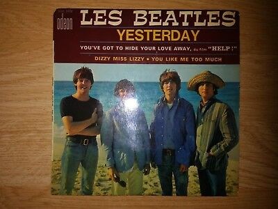 The Beatles-Yesterday-French 60's Ep
